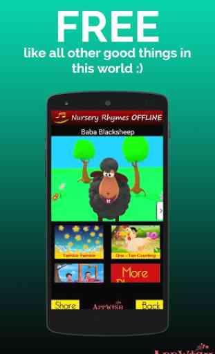 NURSERY RHYMES VIDEOS OFFLINE 3