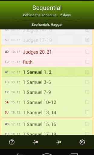 Programme de Lecture Biblique 2