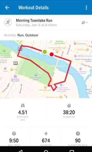 Map My Run GPS Jog film 3