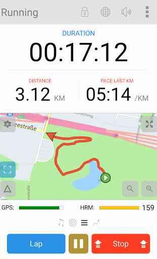 MeeRun Sports Tracker 1