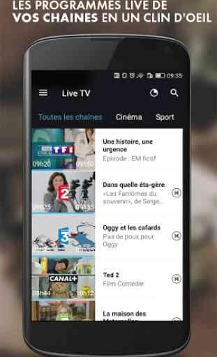 myCANAL, la TV by CANAL 1