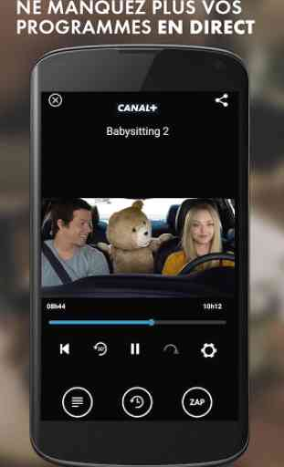 myCANAL, la TV by CANAL 2