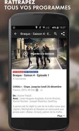 myCANAL, la TV by CANAL 4