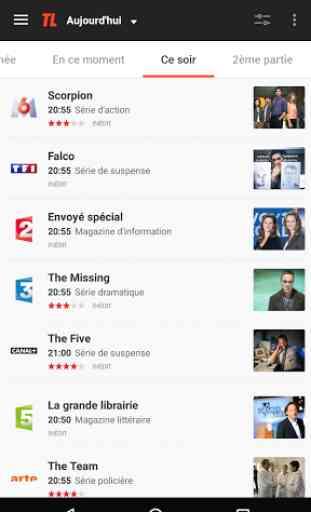 Programme TV par Télé Loisirs 1
