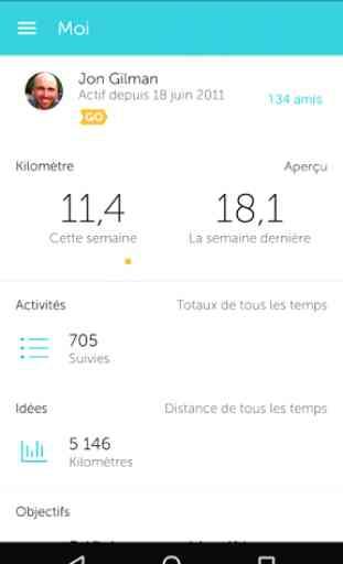 RunKeeper - GPS Courir Marcher 4