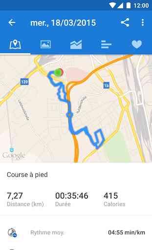 Runtastic Appli Course à pied 4