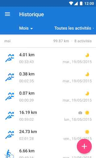 Runtastic PRO Course & Fitness 3