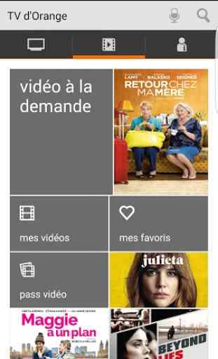 TV d'Orange, live-replay-vod 2