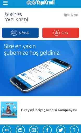 Yapı Kredi Mobile 1