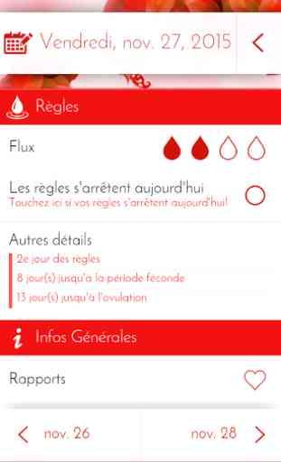 Calendrier Ovulation Et Regle.Agenda Des Regles Calendrier Application Android