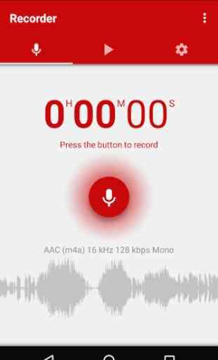 Enregistreur vocal 1
