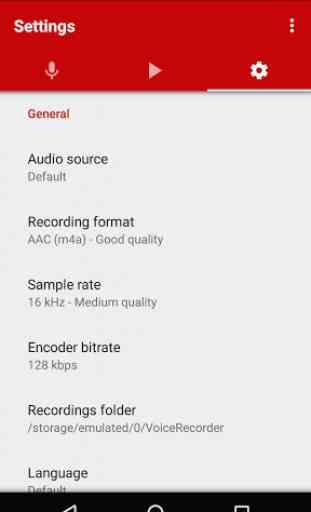 Enregistreur vocal 3