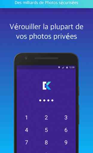 Cacher photos avec KeepSafe 1