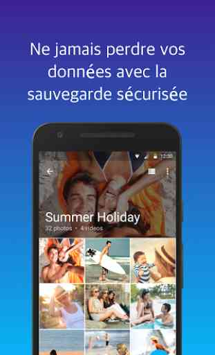 Cacher photos avec KeepSafe 2