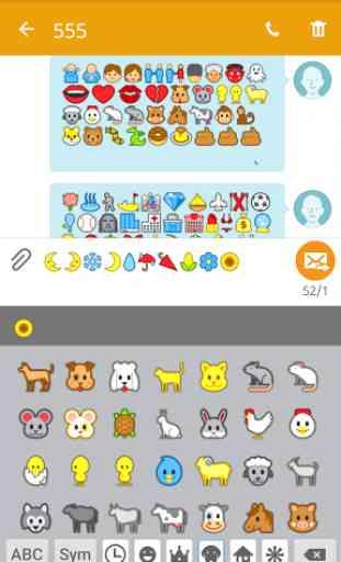 Emoji Font for FlipFont 3 2