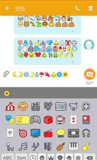Emoji Font for FlipFont 3 3