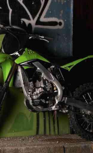 Fond d'écran Moto Cross 4