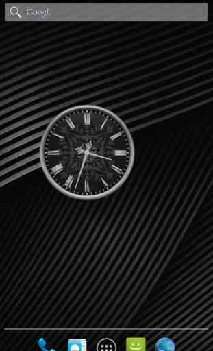 widget horloge analogique application android allbestapps. Black Bedroom Furniture Sets. Home Design Ideas