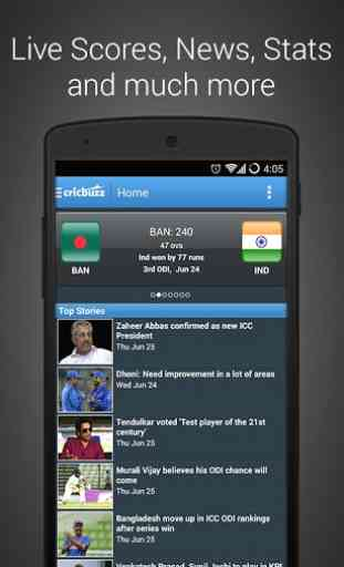 Cricbuzz Cricket Scores & News 1