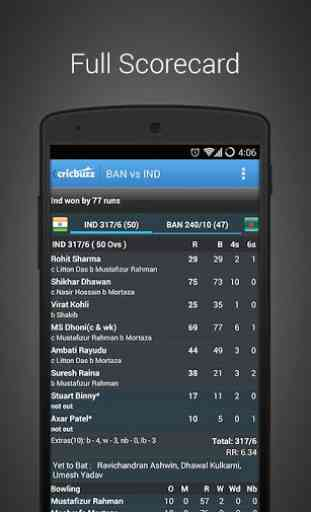 Cricbuzz Cricket Scores & News 3