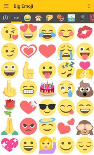 Big Emoji (Android) image 1