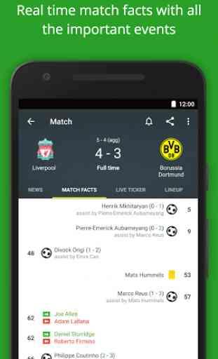 Football Scores - FotMob 2