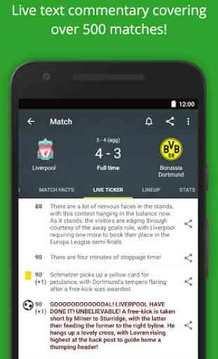 Football Scores - FotMob 3