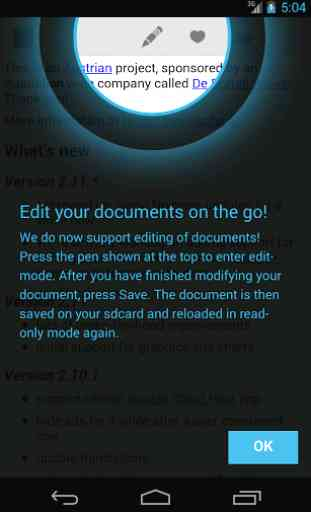 OpenDocument Reader 1