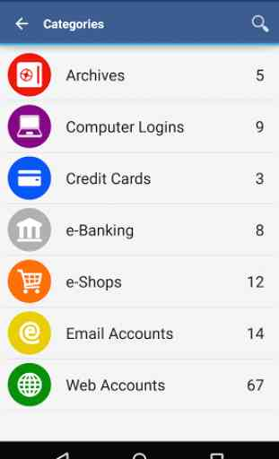 Wallet App pour Android 2
