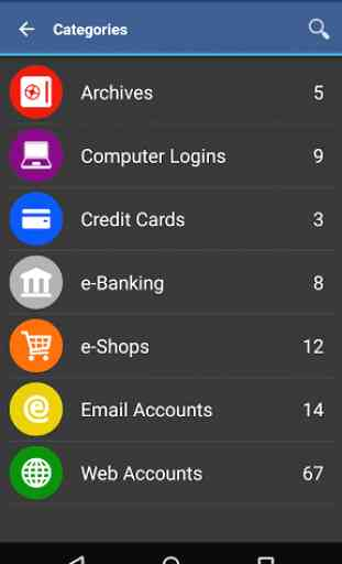 Wallet App pour Android 3