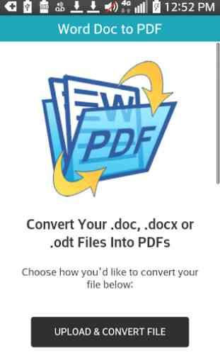 Word DOC to PDF 1
