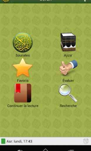 Coran en français 1