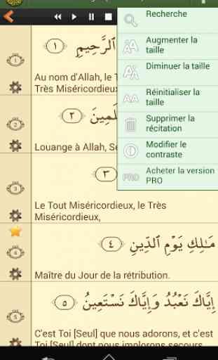 Coran en français 4