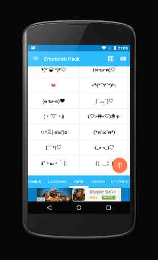 Emoticon Pack with Cute Emoji 2