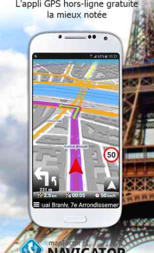 MapFactor: GPS Navigation 1