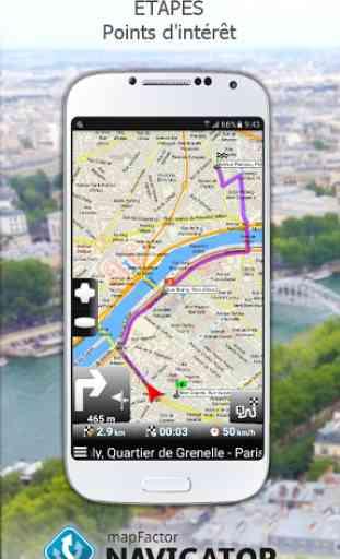 MapFactor: GPS Navigation 3