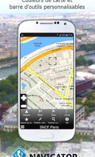 MapFactor: GPS Navigation 4