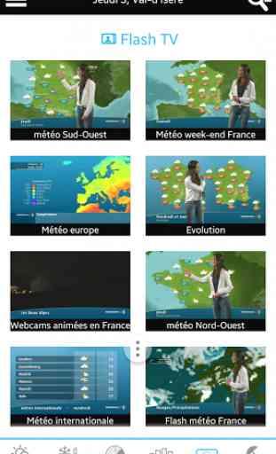 Météo pour la France 3