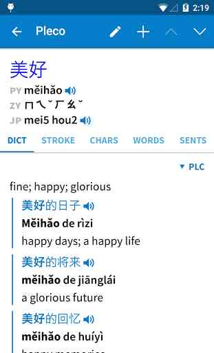 Pleco Chinese Dictionary 3