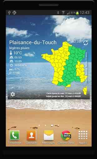 Vigilance Météo France 1