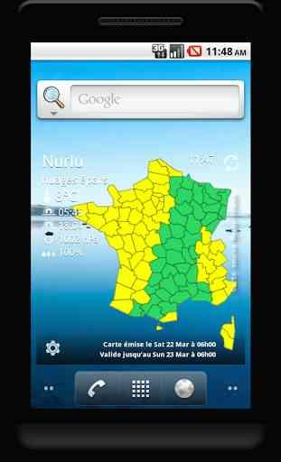 Vigilance Météo France 3