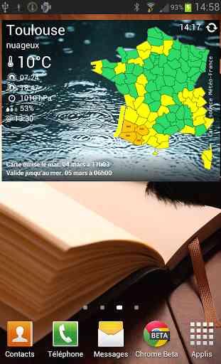 Vigilance Météo France 4