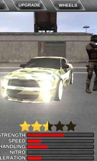 Armée Car Extreme 3D Driving 3