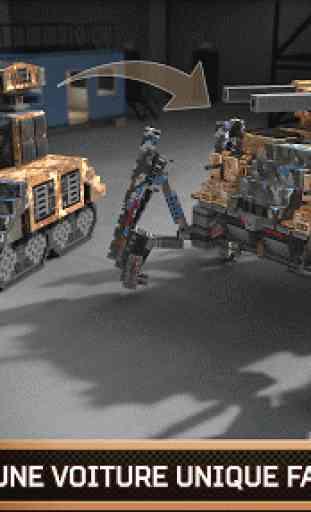 Blocky Cars Online jeux de tir 2
