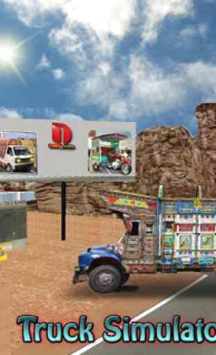Camion Simulateur conduire 2