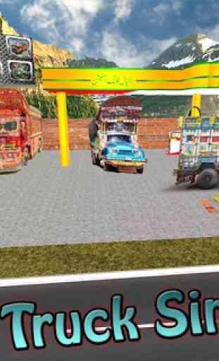 Camion Simulateur conduire 4