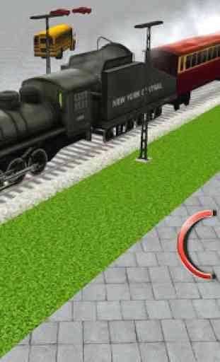 Cargo Train simulateur 3D 1