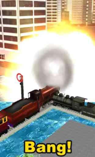 Cargo Train simulateur 3D 3
