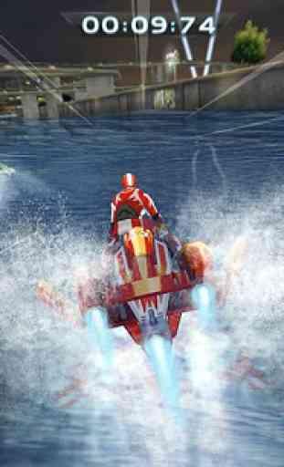 Compétition du bateau à moteur 2
