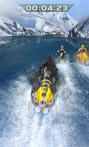 Compétition du bateau à moteur 4